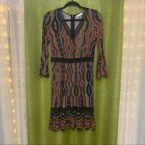 Snake Boho Dress